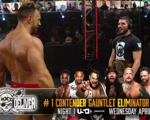 WWE NXT Takeover Stand And Deliver 2021 Full Match Card
