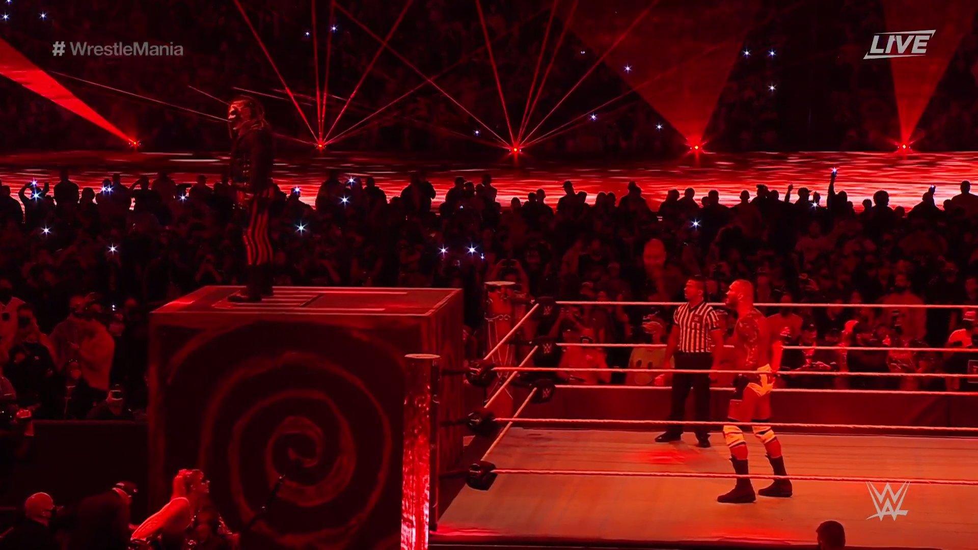 WrestleMania 37. The Fiend vs. Randy Orton