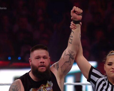 WrestleMania 37. Kevin Owens vs. Sami Zayn