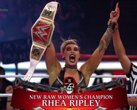 WrestleMania 37. Asuka vs. Rhea Ripley