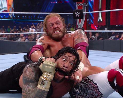 WrestleMania 37. Roman Reigns vs. Edge vs. Daniel Bryan