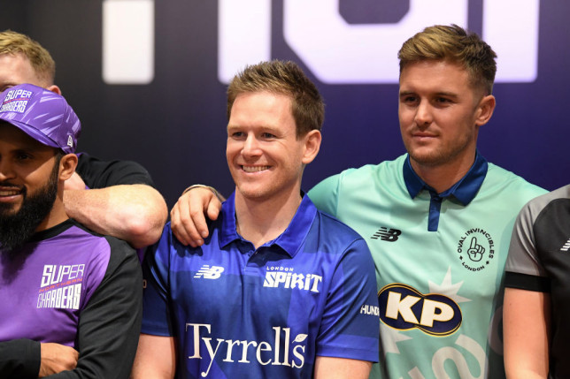 Cricket World Cup hero Eoin Morgan has been named captain of London Spirit for The Hundred (Picture: Getty)