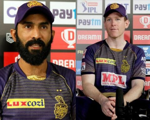 Should Eoin Morgan replace Dinesh Karthik as KKR captain? | Photo - IPL |