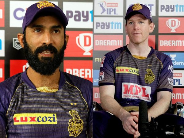 IPL 2021: Eoin Morgan Hails Deputy Dinesh Karthik For Offering Support