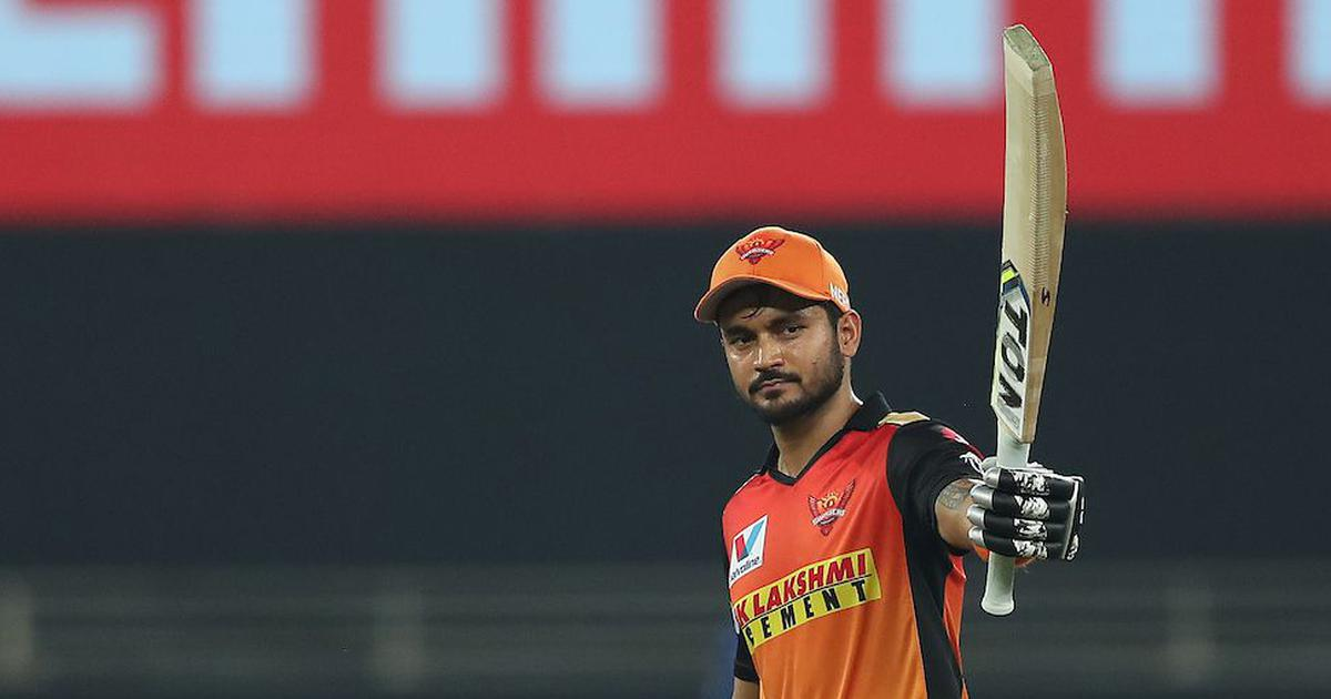Manish Pandey BCCI / Sportzpics