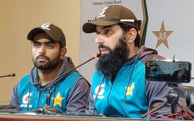 Misbah-ul-Haq and Babar Azam. (Photo Source: Twitter)