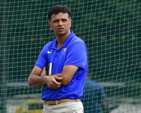Rahul Dravid says dressing room has the power to lift a team's morale. - K. MURALI KUMAR