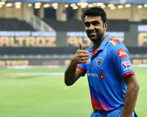 Delhi Capitals player R Ashwin. (Photo | IPL)