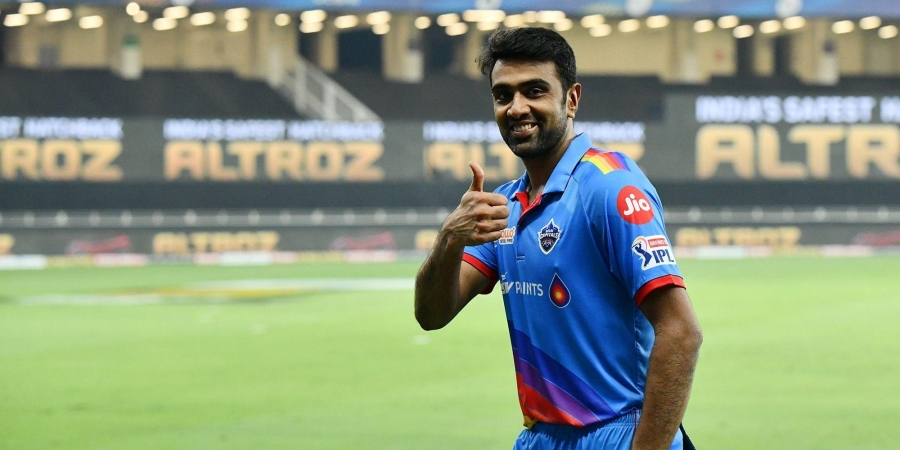 Delhi Capitals player Ravichandran Ashwin. (Photo | IPL)
