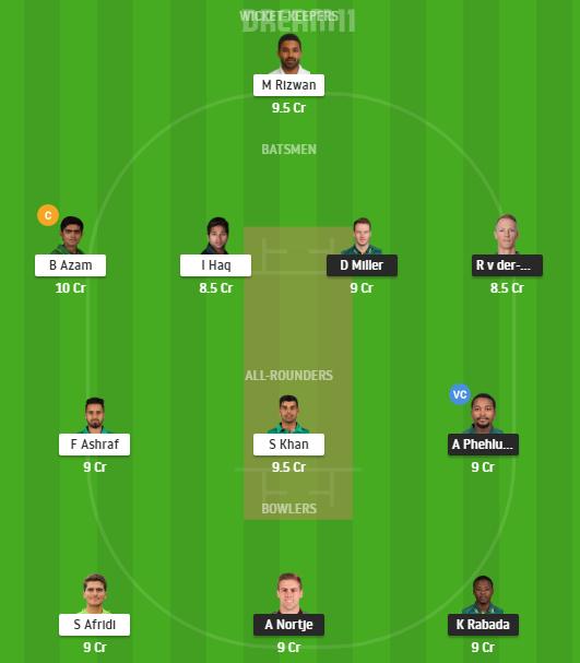 South Africa, Pakistan, 2nd ODI, Fantasy Cricket, South Africa vs Pakistan