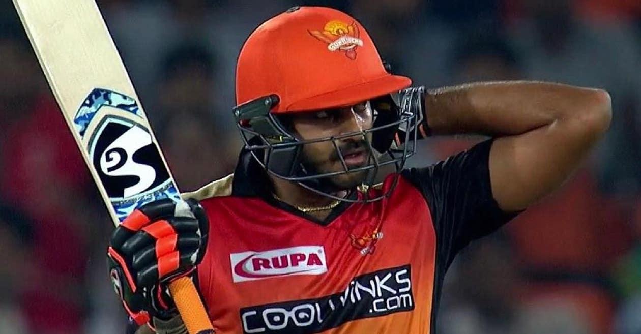 Vijay Shankar (Pic Source: IPL T20)