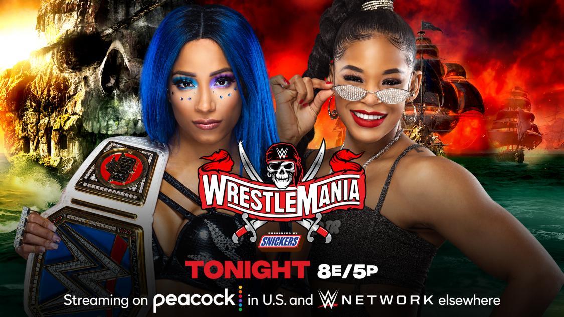 WrestleMania 37. Sasha Banks vs. Bianca Belair