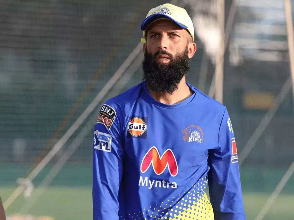 Moeen Ali (Photo Credit : CSK Twitter Handle)