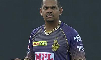 Sunil Narine (KKR) ©BCCI/IPL
