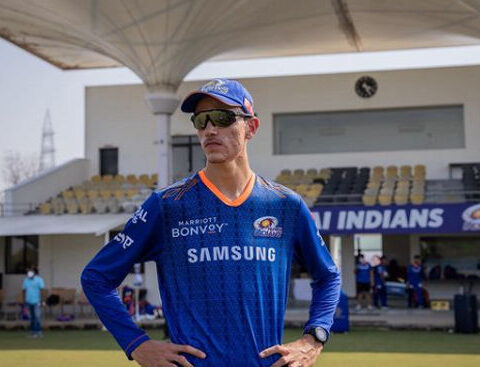 Marco Jansen (Photo credit: Instagram/@mumbaiindians)