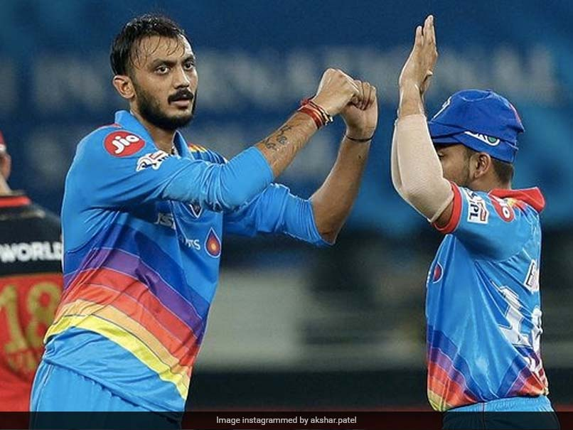 Delhi Capitals all-rounder Axar Patel has tested positive for coronavirus.© Instagram