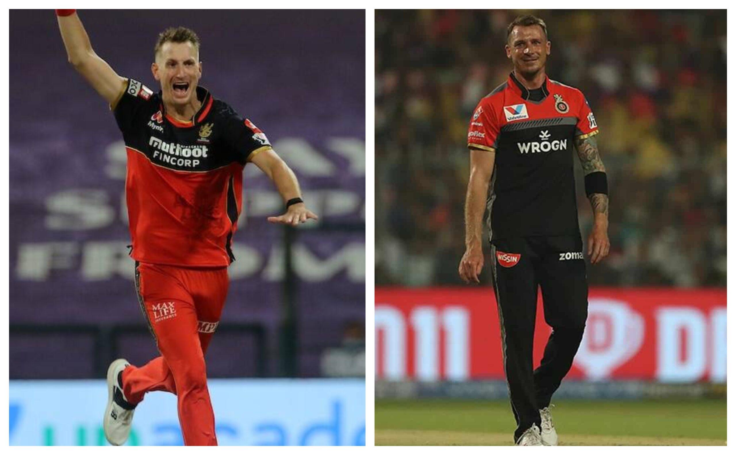 Chris Morris and Dale Steyn | IPL/BCCI