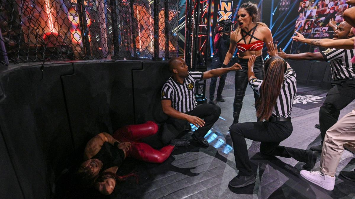 WWE NXT TakeOver Stand And Deliver 2021