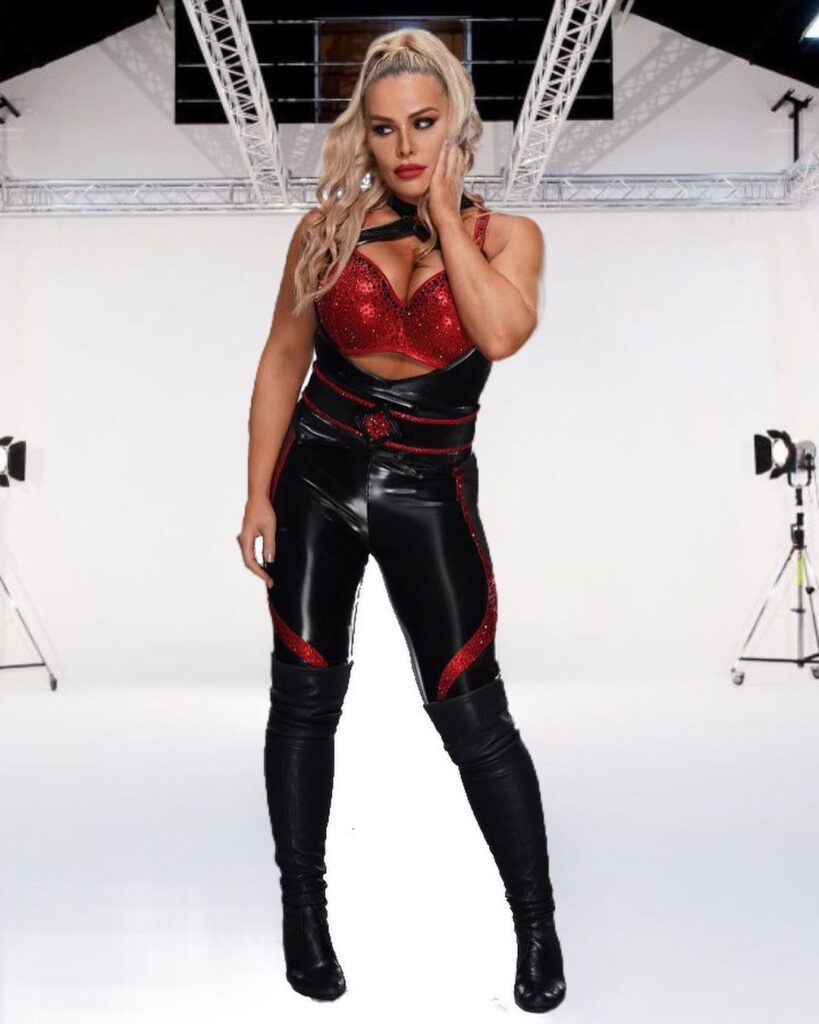 Natalya Shares Photos Of Her Busty WWE In-Ring Outfits 2