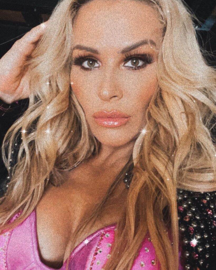 Natalya Shares Photos Of Her Busty WWE In-Ring Outfits 6