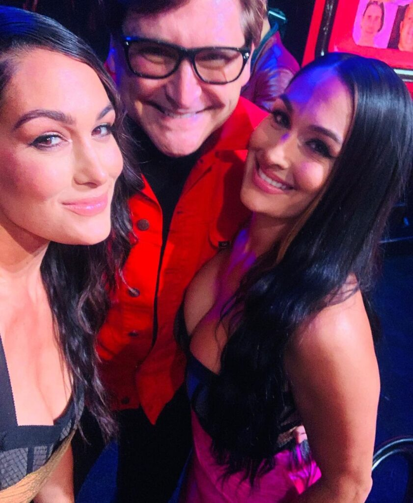 WWE's Brie And Nikki Bella Sizzles At 2021 MTV Movie & TV Awards Red Carpet 167