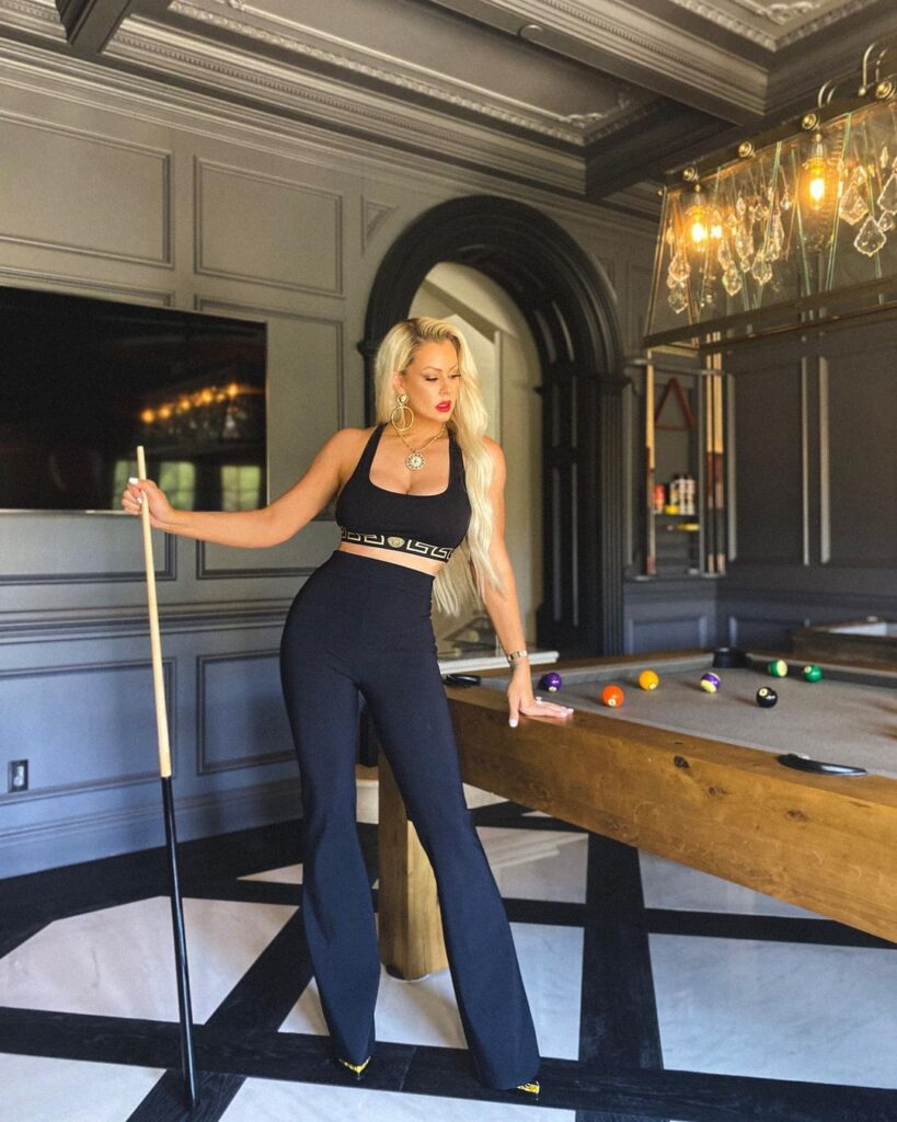WWE Diva Maryse Ready 'To Play Many Games' In Gorgeous Insta Shots 114