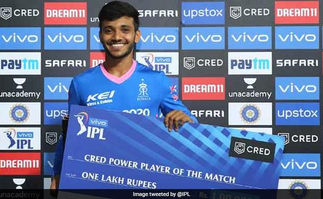 Chetan Sakariya IPL