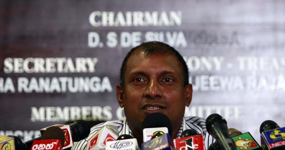 Aravinda de Silva | Dinuka Liyanawatte/Reuters