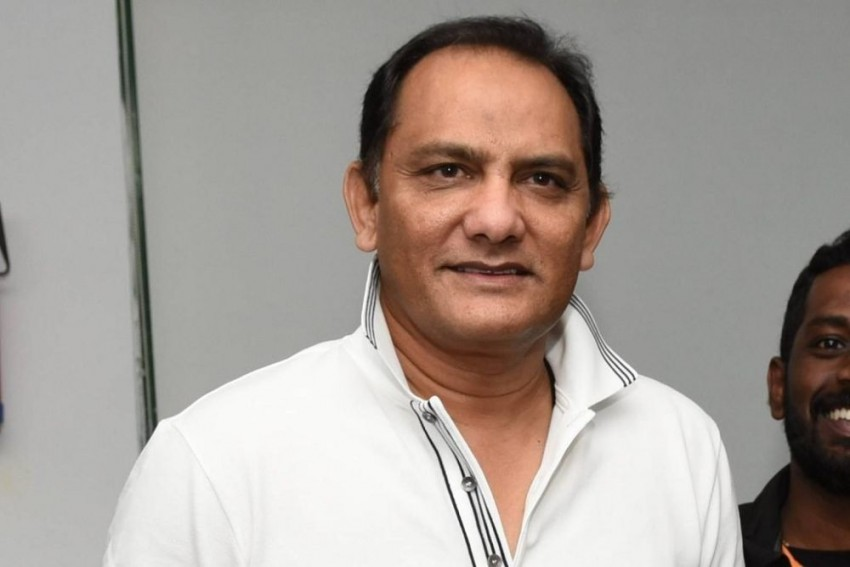 Mohammad Azharuddin played 99 Tests for India. Twitter