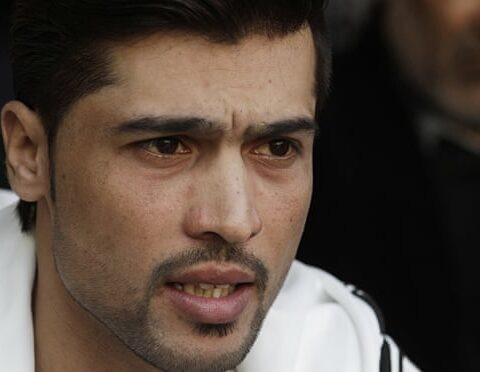 The prospect of Mohammad Amir returning to international cricket has received a mixed reception in Pakistan. Photograph: K.M. Chaudary/AP