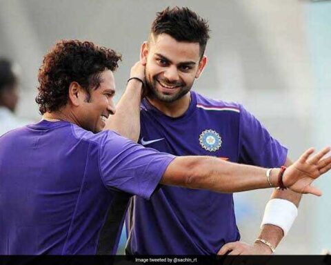 Virat Kohli and Sachin Tendulkar [Image Courtesy: Twitter]