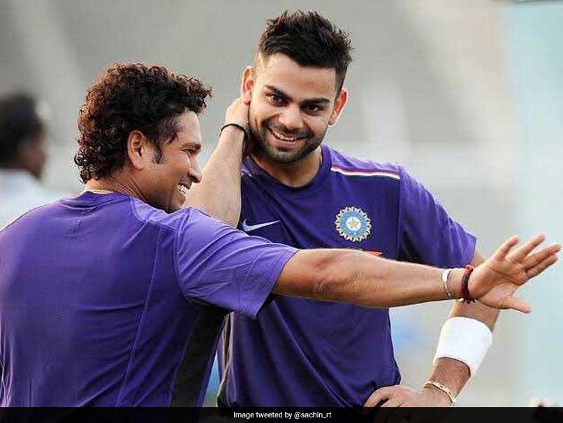 Virat Kohli and Sachin Tendulkar [Image Courtesy: Twitter]