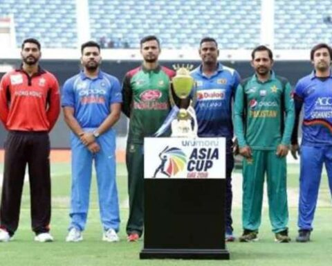Image Source : TWITTER Asia Cup called off due to rising COVID cases in Sri Lanka
