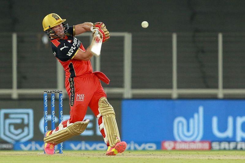 AB de Villiers played an unbeaten 75-run knock against the Delhi Capitals [P/C: iplt20.com]