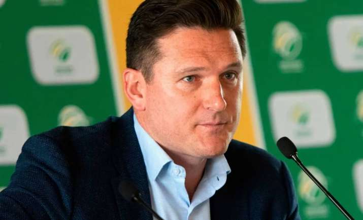 South Africa's Director of Cricket, Graeme Smith Image Source : ICC South Africa's Director of Cricket, Graeme Smith Image Source : ICC