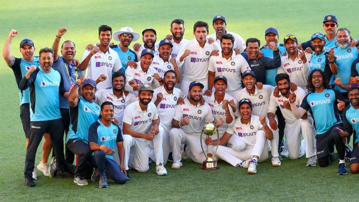 Brisbane Test: India beat Australia by 3 wickets at Gabba to win series 2-1, retain Border-Gavaskar Trophy Image Source : AP IMAGE