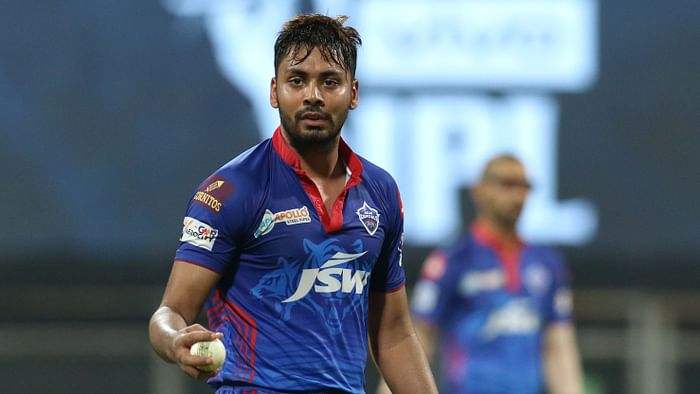 Avesh Khan has been instrumental in Delhi Capitals' early success in IPL 2021. Image: BCCI