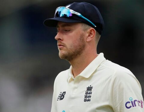 England's Ollie Robinson said he was embarrassed and ashamed of the offensive tweets he made between 2012 and 2014. Photograph: Andrew Couldridge/Action Images/Reuters