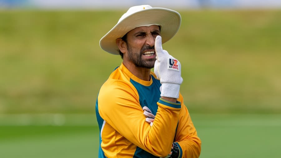 The role of the batting coach was Younis Khan's first full-time appointment with the PCB since his retirement in 2017 Getty Images