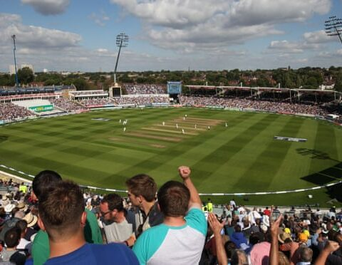 Edgbaston is known for its vibrant atmosphere and will be at 70% capacity when England play New Zealand. Photograph: Wired Photos/Shutterstock