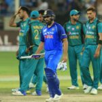 India and Pakistan rarely play against each other but have a heated rivalry. (Photo by Tharaka Basnayaka/NurPhoto via Getty Images)