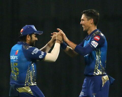 Mumbai Indians pacer Trent Boult hailed Rohit Sharma's captaincy. (Photo credit: BCCI)