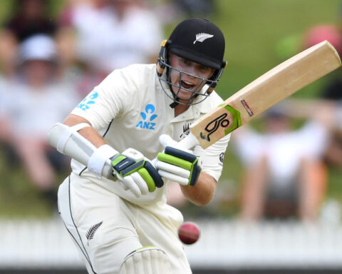 Tom Latham is an underrated weapon for the Black Caps. (Photo by Gareth Copley/Getty Images)