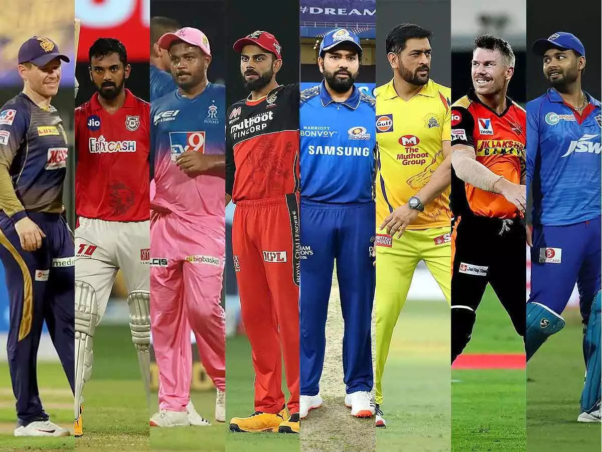 IPL Franchises' Skippers