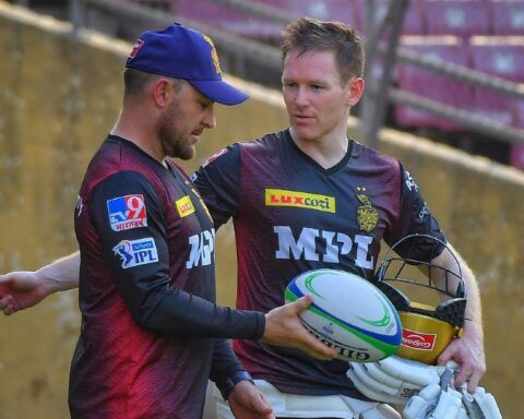 Head coach Brendon McCullum says KKR will make couple of changes in Mumbai (Image Courtesy: KKR Twitter)