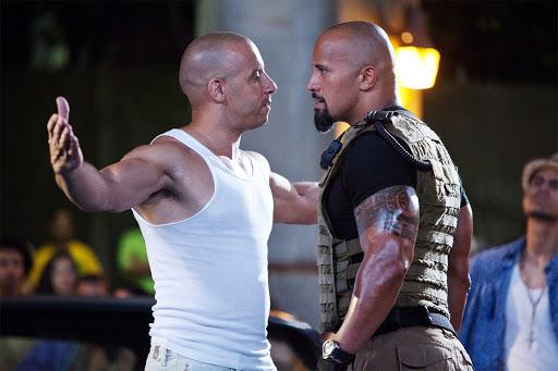 The Rock - Vin Diesel