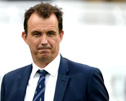 ECB chief executive Tom Harrison Getty Images