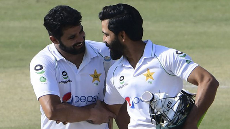 Azhar Ali And Fawad Alam Photo: AFP
