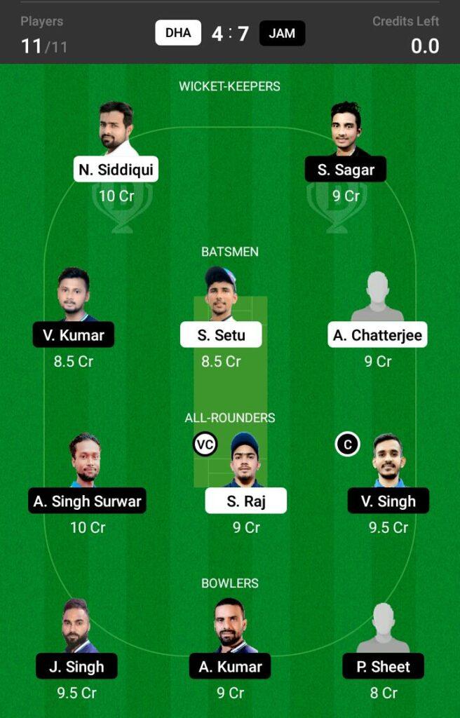 JAM vs DHA Dream11 Prediction, Fantasy Cricket Tips, Dream 11 Team, BYJU'S Jharkhand T20 2021