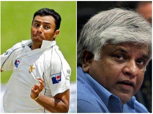 Danish Kaneria slams Arjuna Ranatunga on his recent remark on Dhawan & Co. Photo | AP/PTI